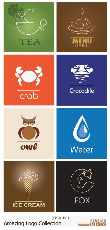 دانلود تصاویر وکتور آرم و لوگوی متنوع - Amazing Logo Collection