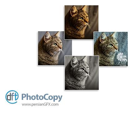 دانلود پلاگین فیلتر گذاری بر روی عکس ها برای فتوشاپ - Digital Film Tools PhotoCopy v2.0v11 x64