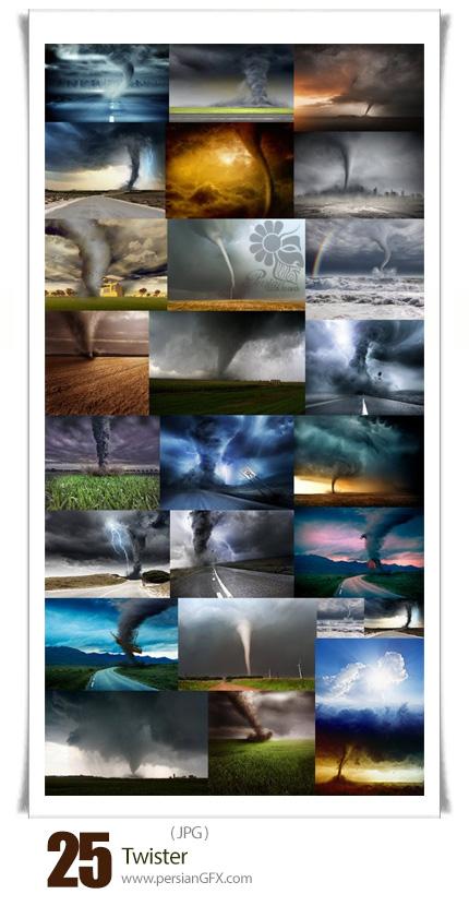 دانلود تصاویر با کیفیت گردباد، طوفان - Twister
