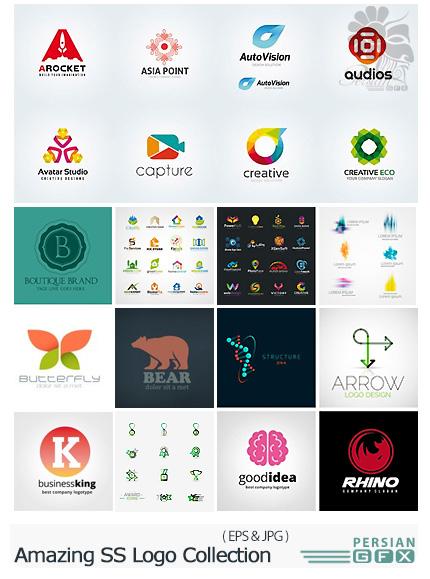 دانلود تصاویر وکتور آرم و لوگوی متنوع از شاتراستوک - Amazing Shutterstock Logo Collection