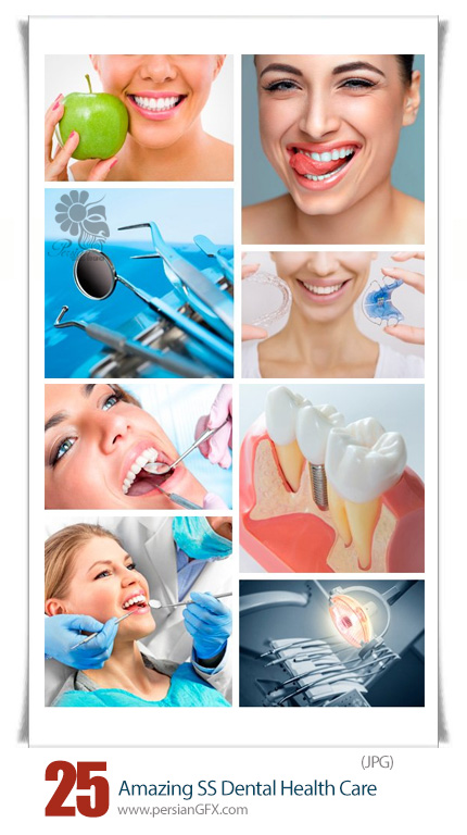 دانلود تصاویر با کیفیت بهداشت دهان و دندان از شاتر استوک - Amazing Shutterstock Dental Health Care