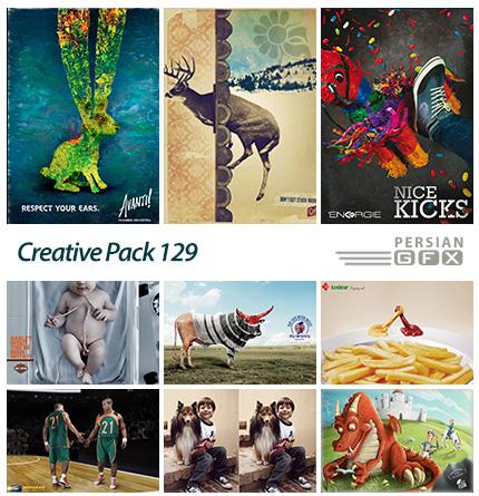 دانلود تصاویر تبلیغاتی متنوع - 129 Creative Pack