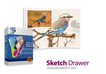 دانلود نرم افزار تبدیل عکس های دیجیتال به طرح های نقاشی - SoftOrbits Sketch Drawer Pro v5.1