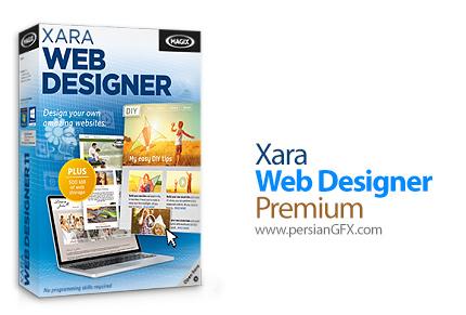 دانلود نرم افزار طراحی وب - Xara Web Designer Premium v11.2.3.40788 x86/x64