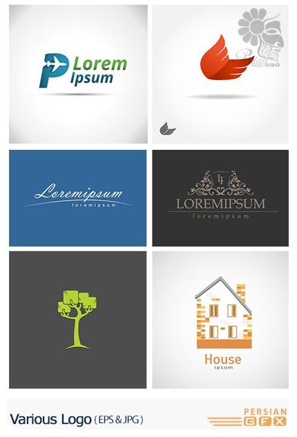 دانلود تصاویر وکتور آرم و لوگوهای متنوع - Various Logo