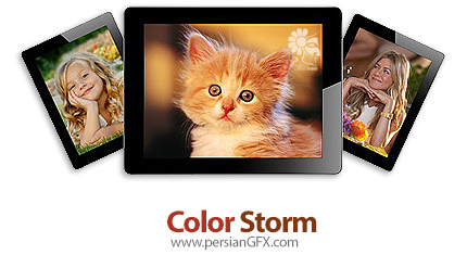 دانلود نرم افزار مشاهده، ویرایش و اشتراک گذاری تصاویر - Color Storm v15.5.0.0