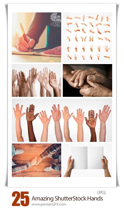 دانلود تصاویر با کیفیت دست، دست پیر، دست جوان از شاتر استوک - Amazing ShutterStock Hands
