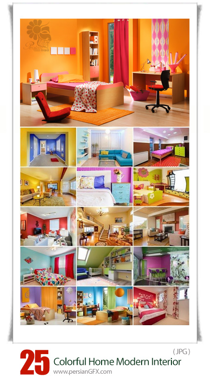 Colorful Home Modern Interior