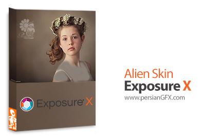 دانلود نرم افزار ویرایش حرفه ای و خلاقانه عکس های دیجیتال - Alien Skin Exposure X v1.1.0.2269 x64