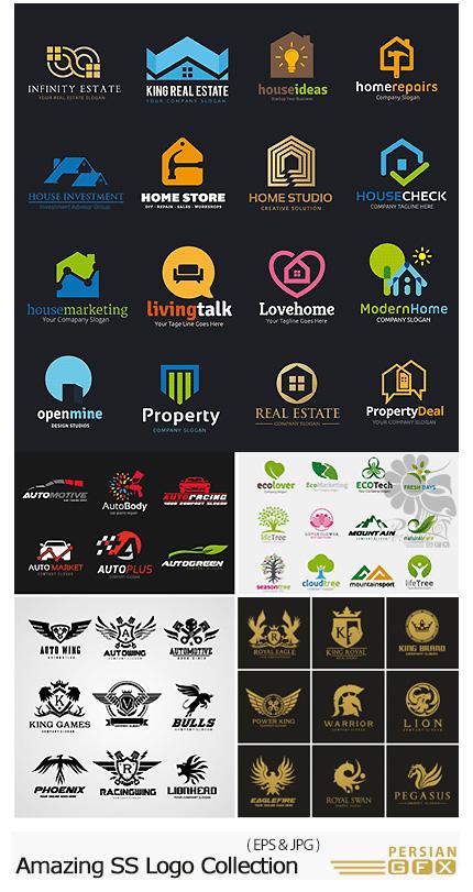 دانلود تصاویر وکتور آرم و لوگوی متنوع از شاتر استوک - Amazing ShutterStock Logo Collection
