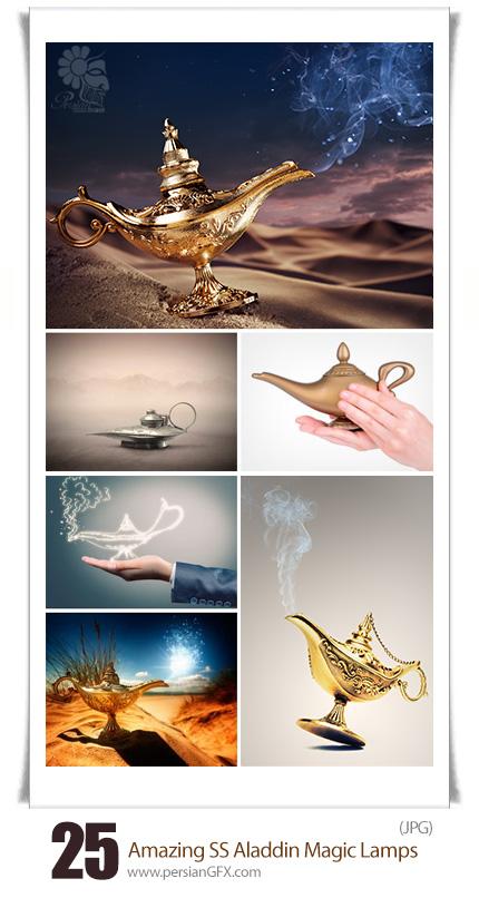 دانلود تصاویر با کیفیت چراغ جادو، علاءالدین از شاتر استوک - Amazing ShutterStock Aladdin Magic Lamps