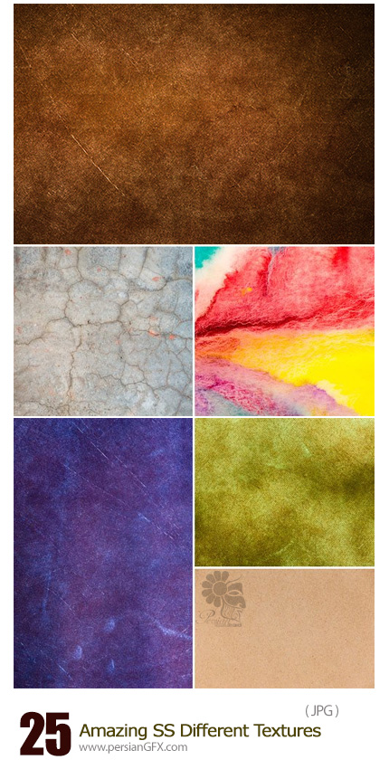 Amazing ShutterStock Different Textures