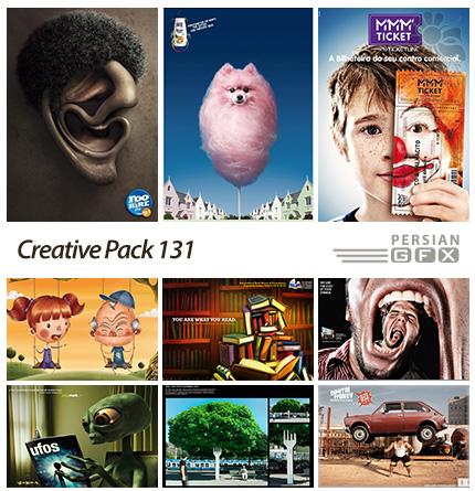 دانلود تصاویر تبلیغاتی متنوع - 131 Creative Pack