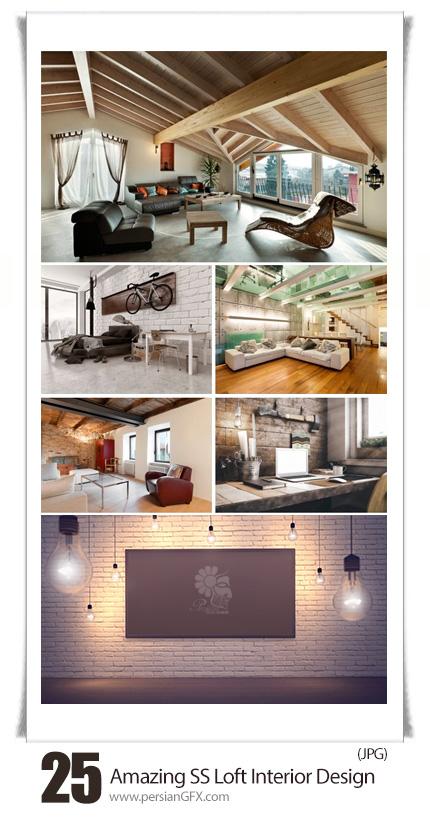 Amazing ShutterStock Loft Interior Design
