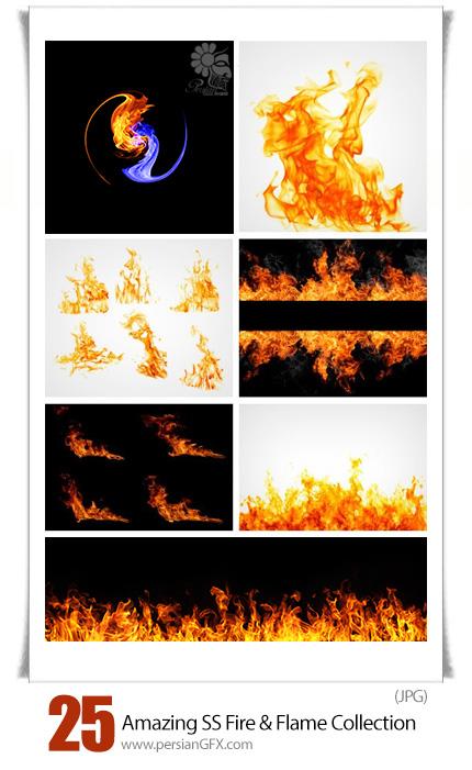 دانلود تصاویر با کیفیت آتش و شعله های آتش از شاتر استوک - Amazing ShutterStock Fire And Flame Collection
