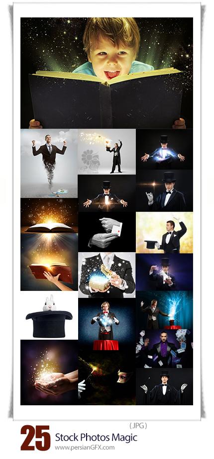 دانلود تصاویر با کیفیت جادو، شعبده بازی، جادوگر - Stock Photos Magic