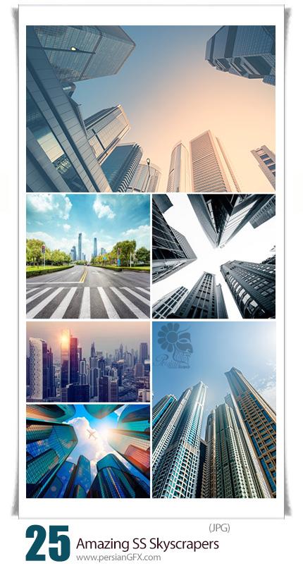 دانلود تصاویر با کیفیت آسمان خراش، برج از شاتر استوک ...