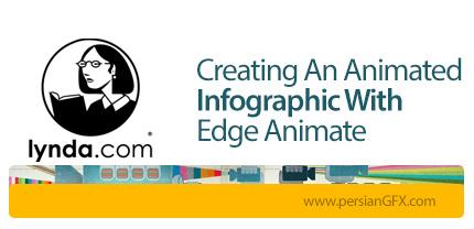 دانلود آموزش خلق یک نمودار اینفوگرافیک متحرک با Edge Animate از لیندا - Lynda Creating An Animated Infographic With Edge Animate