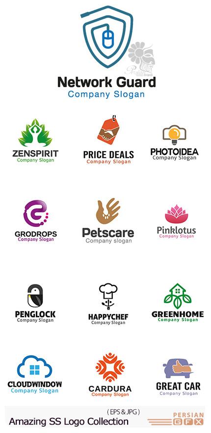 دانلود تصاویر وکتور آرم و لوگوهای مختلف شگفت انگیز - Amazing Mixed Logo 09