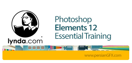 دانلود آموزش فتوشاپ المنت از لیندا - Lynda Photoshop Elements 12 Essential Training