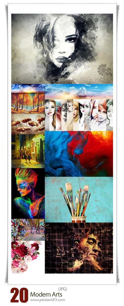 دانلود تصاویر با کیفیت هنری مدرن - Modern Arts