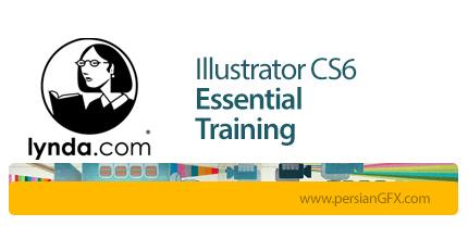 دانلود آموزش کار با نرم افزار ایلوستریتور Cs6 از لیندا - Lynda Illustrator CS6 Essential Training