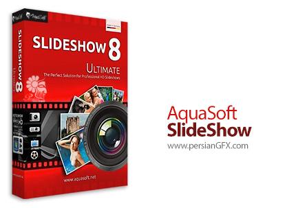 دانلود نرم افزار ساخت ویدئو از عکس های دیجیتالی - AquaSoft SlideShow Premium v10.2.01 x86