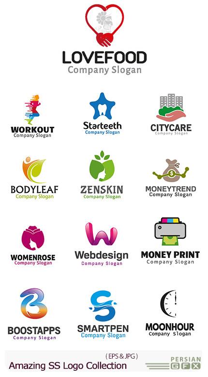 دانلود تصاویر وکتور آرم و لوگوهای مختلف شگفت انگیز - Amazing Mixed Logo 12
