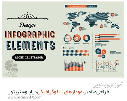 دانلود آموزش طراحی عناصر نمودارهای اینفوگرافیکی در ایلوستریتور از Skillshare - Skillshare Design Infographic Elements In Adobe Illustrator