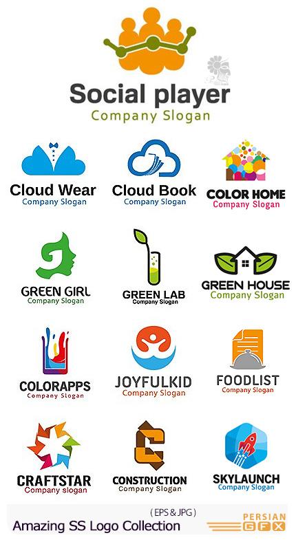 دانلود تصاویر وکتور آرم و لوگوهای مختلف شگفت انگیز - Amazing Mixed Logo 13