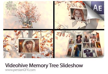 دانلود قالب اسلایدشو آماده درخت پاییزی برای نمایش تصاویر خاطره انگیز از ویدئوهایو - Videohive Memory Tree Slideshow