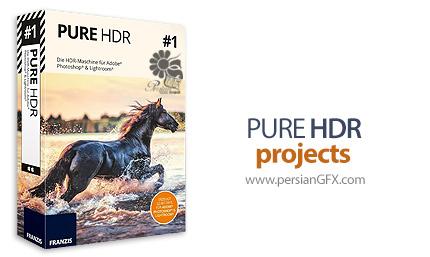دانلود نرم افزار ساخت عکس های اچ دی آر - PURE HDR projects v1.15.02593