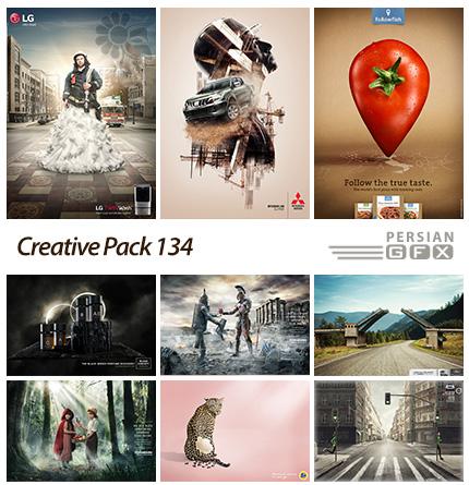 دانلود تصاویر تبلیغاتی متنوع - 134 Creative Pack