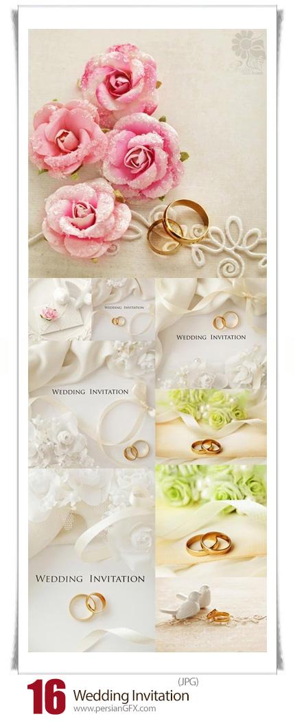 دانلود تصاویر با کیفیت پس زمینه های تزئینی عروسی - Wedding Invitation