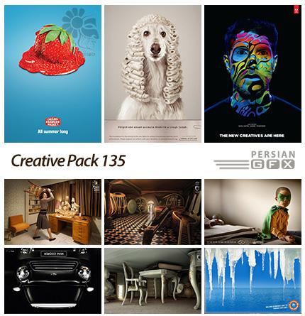 دانلود تصاویر تبلیغاتی متنوع - 135 Creative Pack