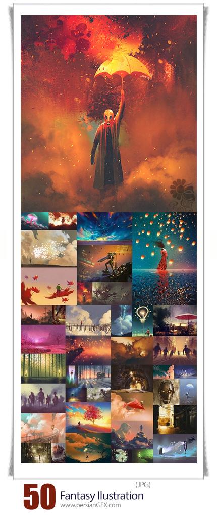 دانلود تصاویر با کیفیت طرح های گرافیکی فانتزی - Fantasy Ilustration
