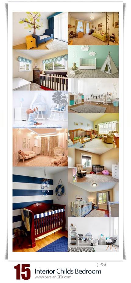 دانلود تصاویر با کیفیت طراحی داخلی اتاق خواب کودکان - Interior Childs Bedroom