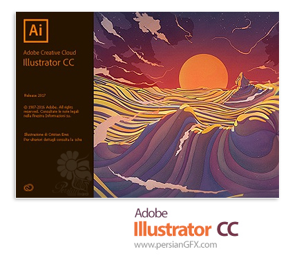 دانلود Adobe Illustrator CC 2017 v21.0.0 - نرم افزار ادوبی ایلوستریتور سی سی