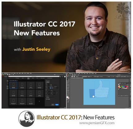 دانلود آموزش ویژگی های جدید ایلوستریتور سی سی 2017 از لیندا - Lynda Illustrator CC 2017 New Features