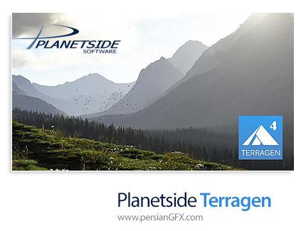دانلود Planetside Terragen Professional v4.1.18 x64 - نرم افزار طراحی و رندرینگ محیط های طبیعی
