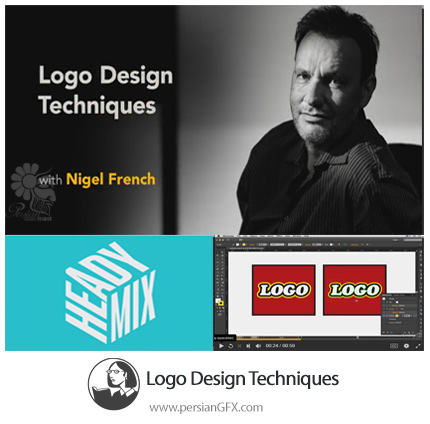 دانلود آموزش تکنیک های طراحی لوگو در ایلوستریتور از لیندا - Lynda Logo Design Techniques