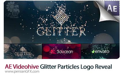 دانلود پروژه آماده افترافکت نمایش لوگو با افکت ذرات درخشان به همراه آموزش ویدئویی از ویدئوهایو - Videohive Glitter Particles Logo Reveal Pack After Effects Template