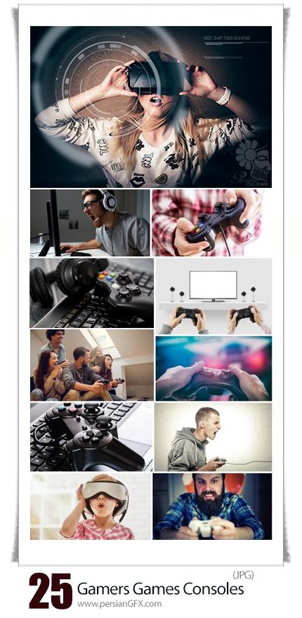 دانلود تصاویر با کیفیت بازیکن بازی های دیجیتالی و کنسول بازی - Gamers Games Consoles