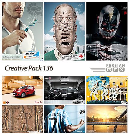 دانلود تصاویر تبلیغاتی متنوع - 136 Creative Pack