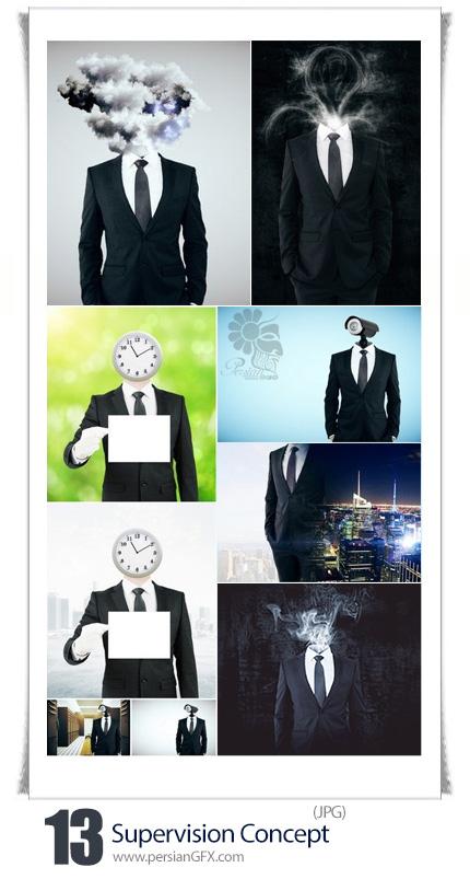 دانلود تصاویر با کیفیت مفهومی مدیریت تجاری - Supervision Concept