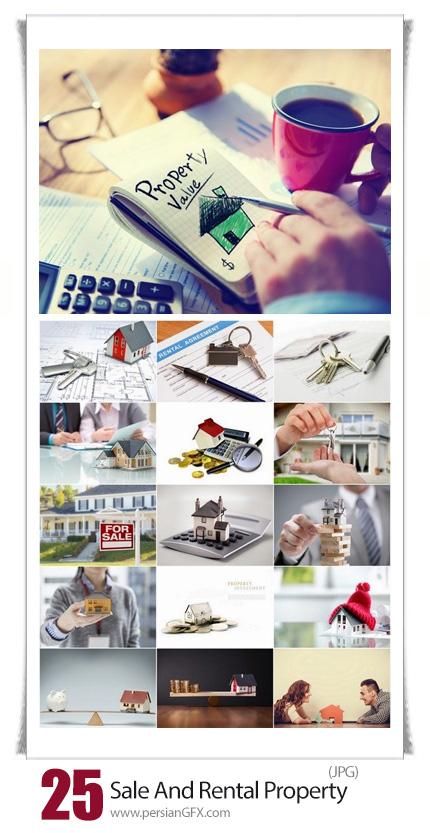 دانلود تصاویر با کیفیت قرار داد فروش و اجاره املاک -  Sale And Rental Property And Agrements