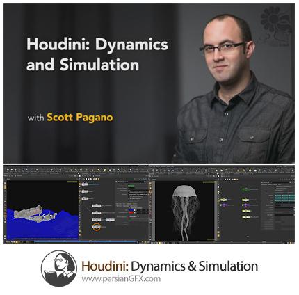 دانلود آموزش هودینی: دینامیک و شبیه سازی از لیندا - Lynda Houdini: Dynamics And Simulation