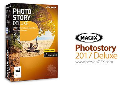 دانلود نرم افزار ساخت اسلاید های چند رسانه ای از تصاویر - MAGIX Photostory 2017 Deluxe v16.1.3.61 x64