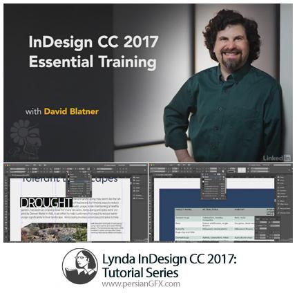 دانلود آموزش ایندیزاین سی سی 2017 از لیندا - Lynda InDesign CC 2017 Tutorial Series
