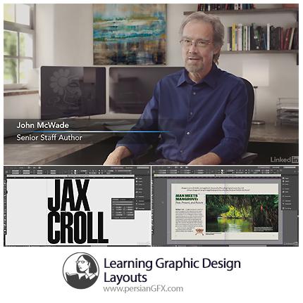 دانلود آموزش طراحی های گرافیکی: طرح بندی از لیندا - Lynda Learning Graphic Design: Layouts